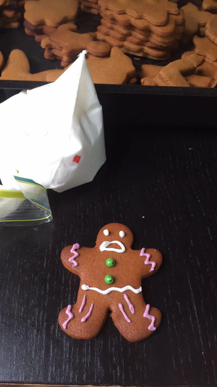 December Review: December highlights gingerbread men