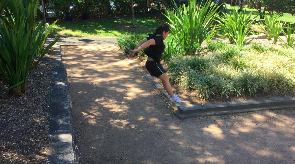2018 Goals: Parkour perfect my technique