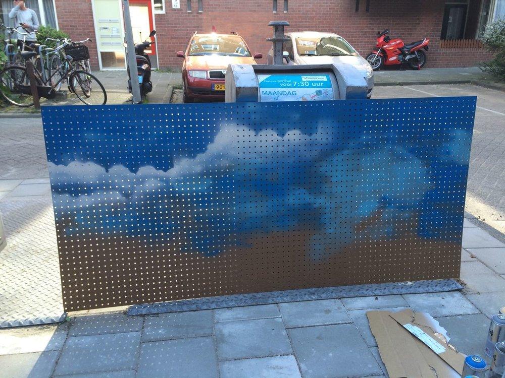 DIY kitchen pegboard spraypaint graffiti cloud design cloud graffiti pegboard - 4.jpg