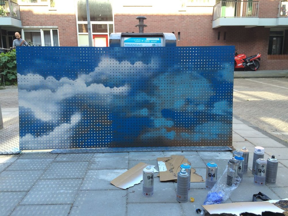 DIY kitchen pegboard spraypaint graffiti cloud design cloud graffiti pegboard - 5.jpg