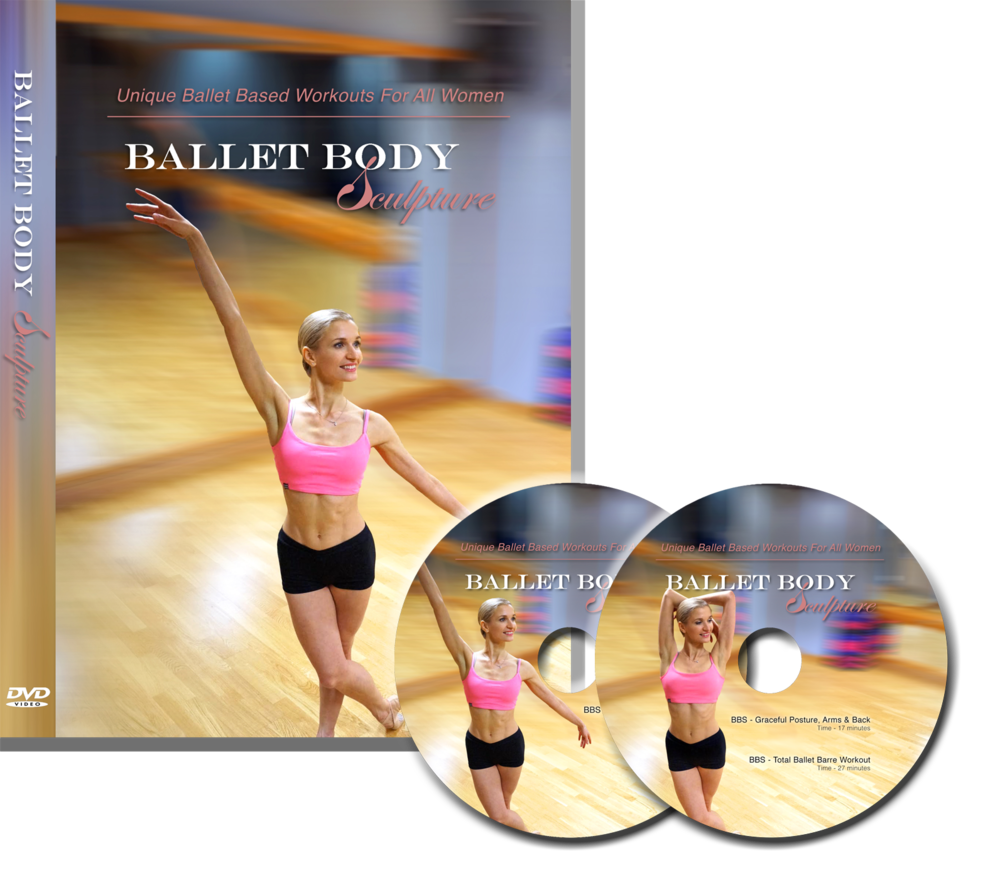 Ballet Body Sculpture DVD Box Set - 2 DVDs -3 Classes