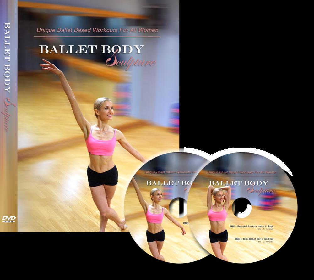Ballet Body Sculpture DVD Box Set - 2 DVDs -3 Classes