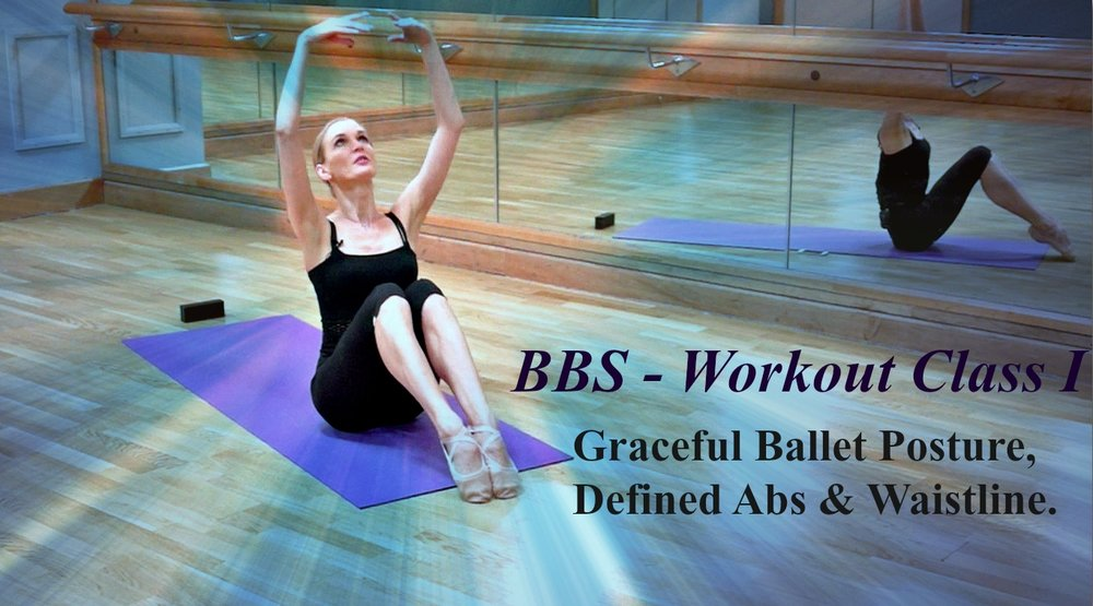 Ballet Body Sculpture - Workout Class I Graceful Posture, Defined Abs & Waistline. Slim & tone your body lines, strengthen the core and create elegant ballet dancer's posture. Level : Beginner  - Length : Approx. 20min