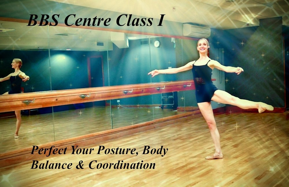 Ballet Body Sculpture - Centre Class I   Perfect Your Posture, Body Balance & Coordination. An elegant ballet lesson designed to lengthen and sculpt the lower body whilst strengthening your core stability. Improving your coordination, artistry and expression, low impact ballet steps are perfect for mastering the basics whilst you refine and tone. Level : Beginner/Intermediate Length : Approx. 25min