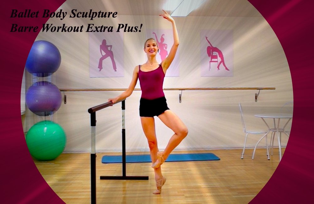 BBS - Barre Workout Extra Plus!   Perfect & sculpt your bodyline like never before! Benefit from our unique classical ballet barre exercises that will shape, tone & firm, as well as lengthen & stretch your muscles. The key movements used by all professionals to develop body strength, control and elegance! Level : Beginner/Intermediate Length : Approx. 40min