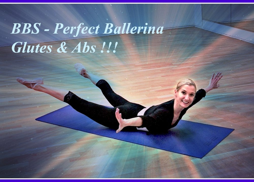 Ballet Body Sculpture - Perfect Ballerina Gluts & Abs!   Slim, tone and firm your entire core whilst creating beautiful length and definition in your waistline. Realign your posture, shape your bottom and firm the muscles in your legs, ballerina style! Level : Beginner/Intermediate  Length : Approx.: 30 min
