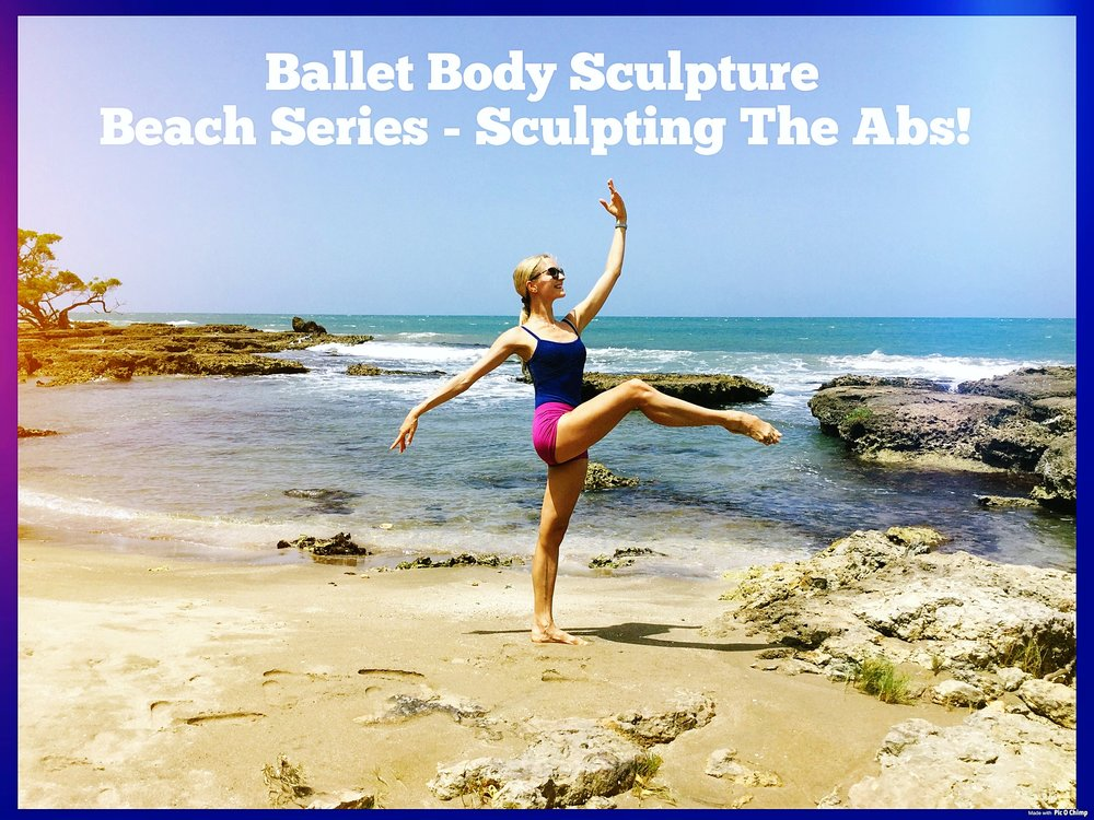 BBS Beach Series - Sculpting The Abs!   Create your flat stomach muscles and great waistline in no time! Great workout to exercise either at home or whilst on holiday, developing your perfect abs and strengthening the core muscles. Enjoy the exercises sculpting the body very quickly and effectively.   Level: Fun to challenge!   Length : Approx.: 10min