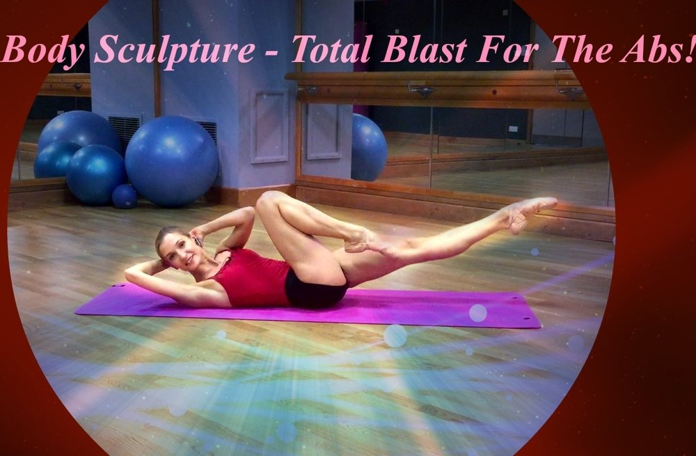 BBS - The Ultimate Blast For Abs!   The perfect way to tone up & flatten your entire core fast! Challenge yourself with these quick but fun sequences to perfect your waistline & see the difference in just over 5min!   Level: Fun to challenge!   Length: Approx. 5min