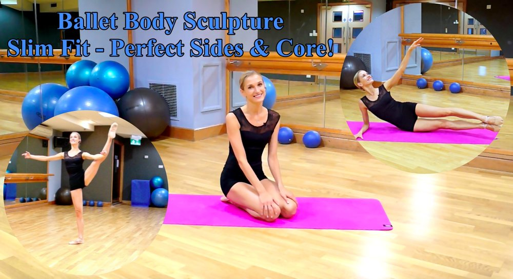 BBS Slim Fit - Perfect Sides & Core!   A short and condensed workout to effectively define your sides, waistline and stretch the core muscles. Develop balance and core stability with our ballet inspired conditioning exercises, work the entire core with focus on the deep abdominals and obliques. Take inches off your waist and realign your posture.   Level: Beginner/Intermediate   Length : Approx.: 11min