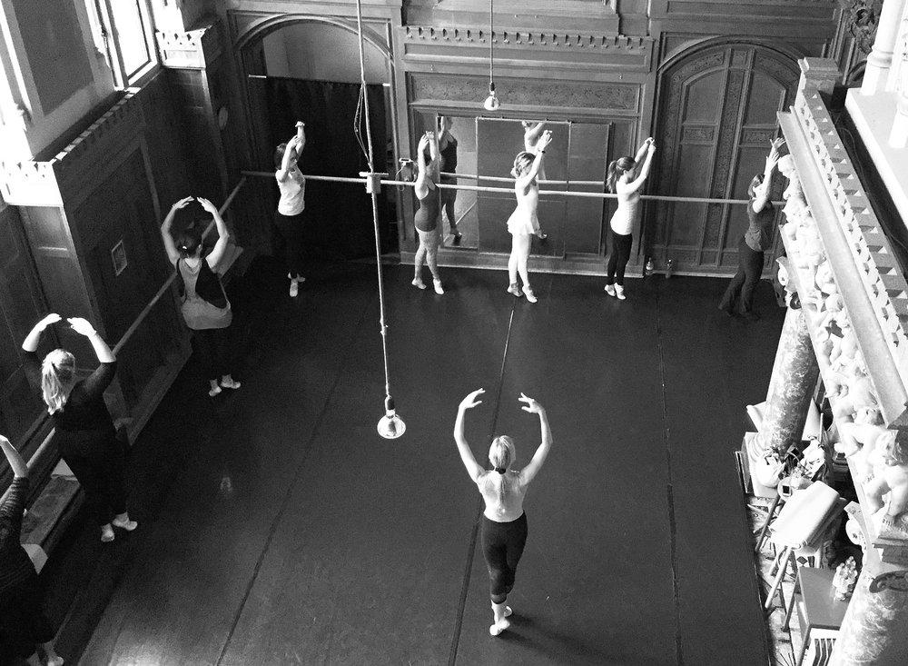 ballet body sculpture workshops