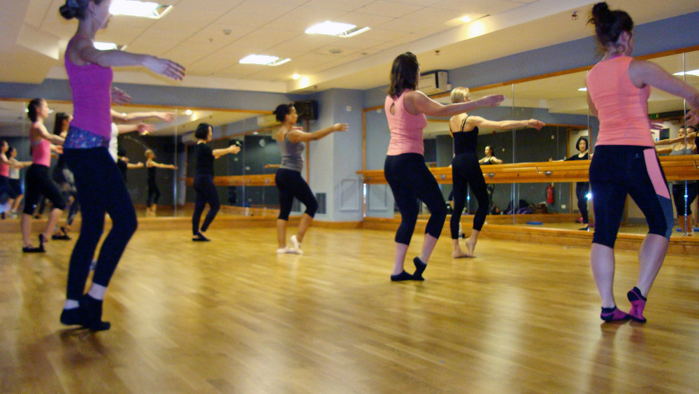 Copy of ballet body sculpture ballet fitness classes