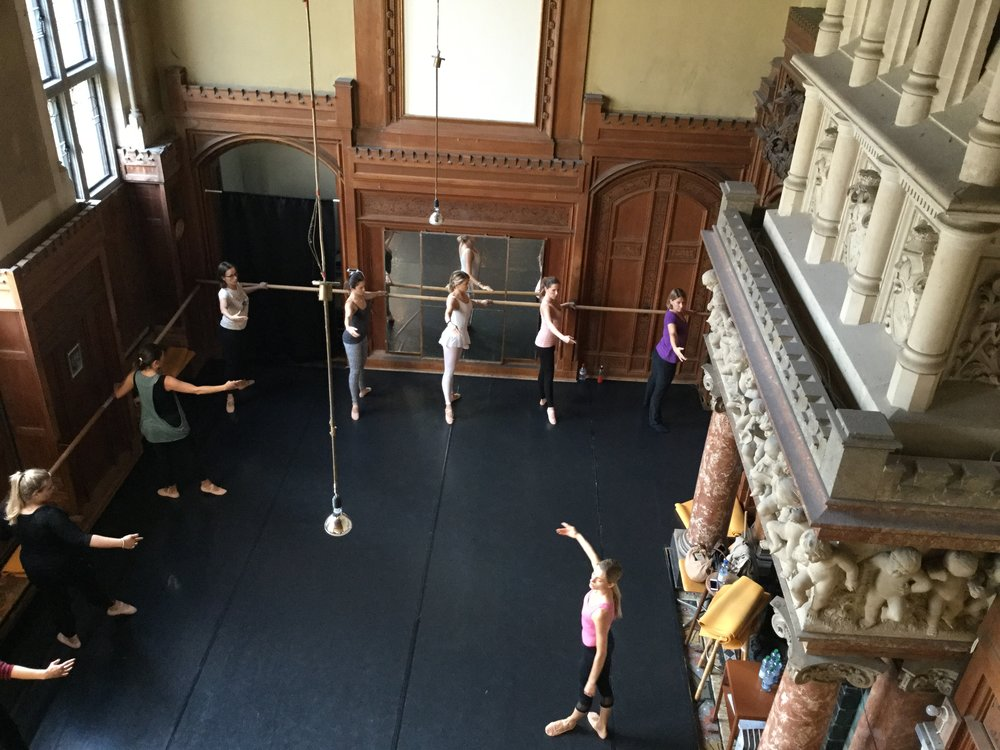 Copy of ballet body sculpture workout classes