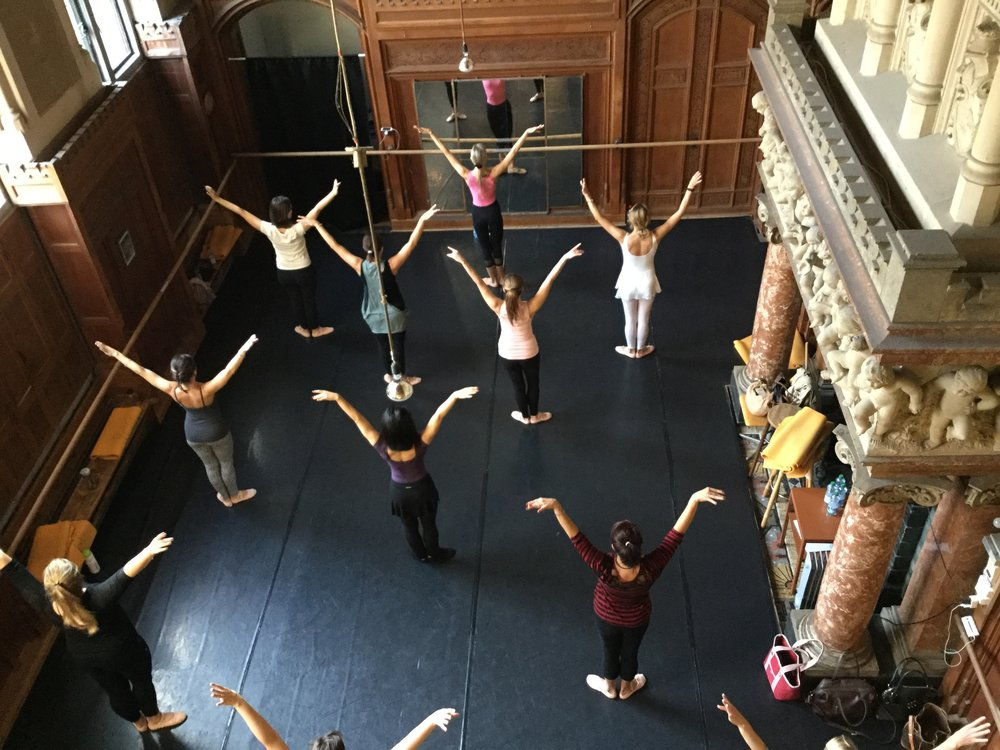 Copy of ballet body sculpture dance classes