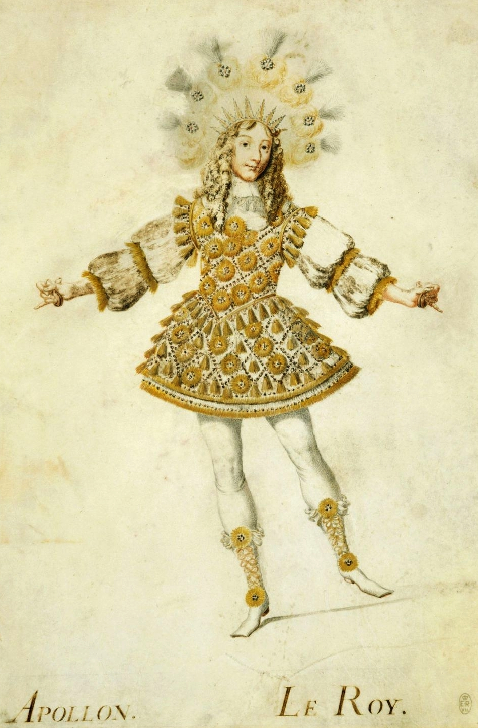 Louis XIV in ballet costume