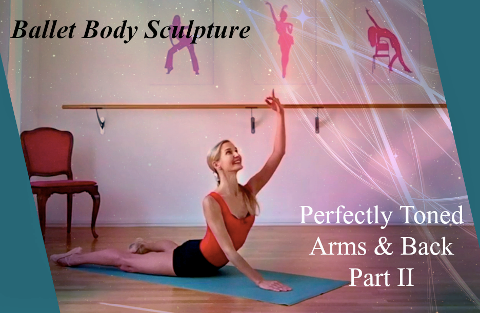 BBS Perfectly Toned Arms and Back Part II   Slimming & toning upper body workout targeting the muscles in the arms, shoulders, center and back. Sculpt lean, feminine arms, while building upper body strength and excellent posture. A great follow up of BBS Perfectly Toned Arms & Back Part I. Can be used on it's own or in the combination of the two.  Level : All levels  Length: Approx. 12min