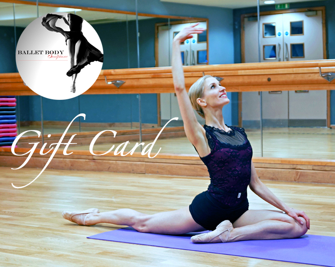 Ballet Body Sculpture Gift Voucher
