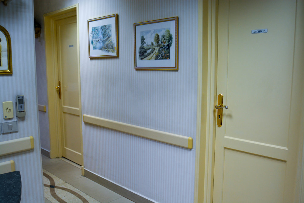 Cairo Cure Hallway