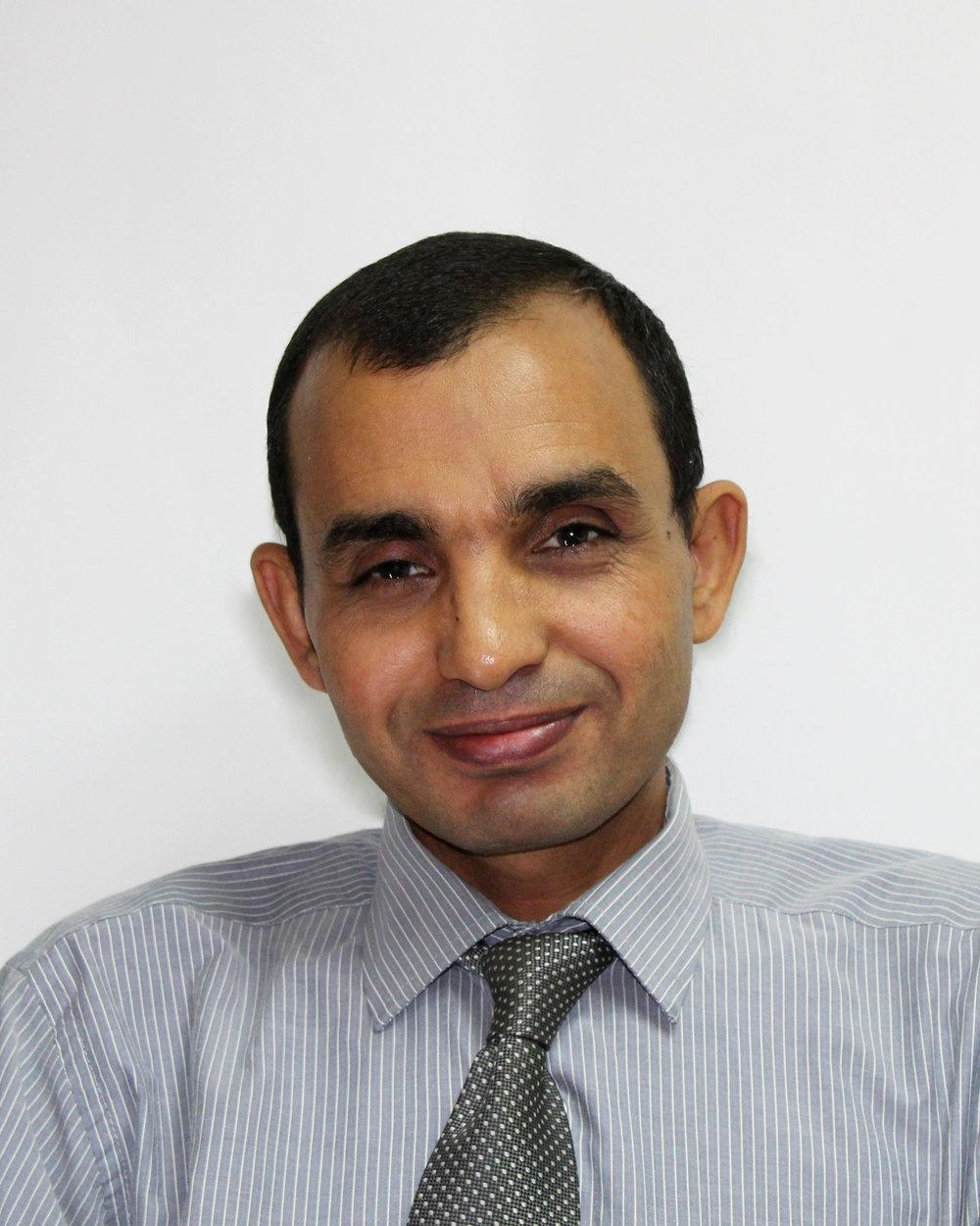 Mr. Baghdadi Aziz Legal & Finance Manager