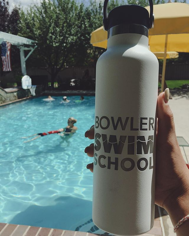 The Last Splash is tomorrow!! RSVP through the link in our bio to be entered into a drawing for this Bowler Swim School Hydroflask! Can't wait to see you all there!☀️