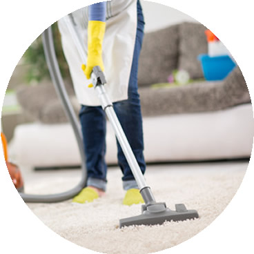 Our Leesburg Maids Vacuum all carpets while cleaning your Leesburg home.