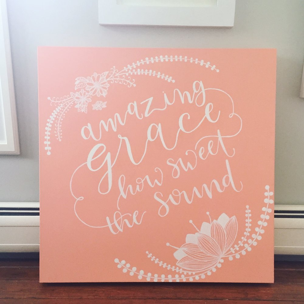 Amazing Grace Canvas