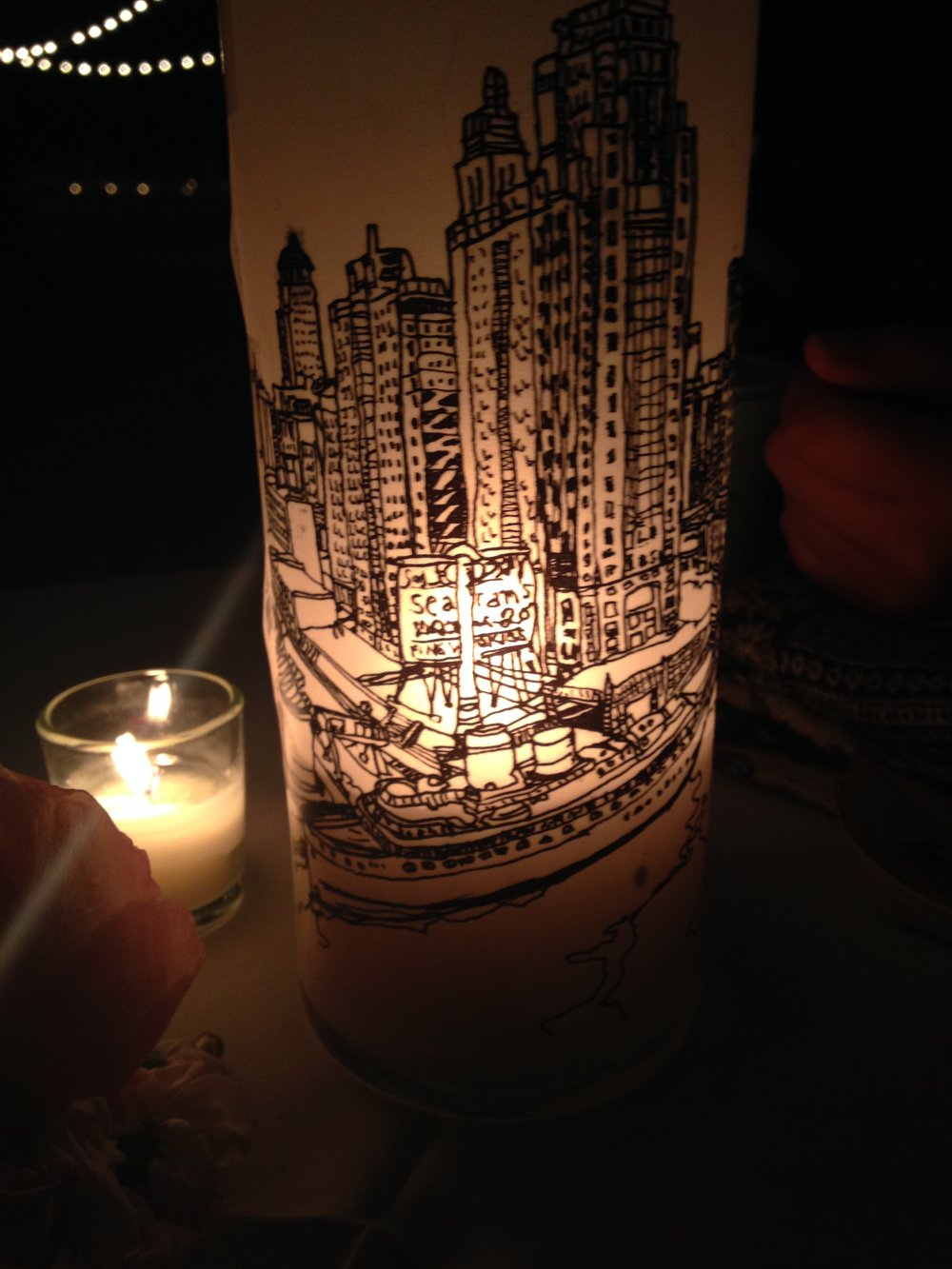 Chicago Skyline Luminaries
