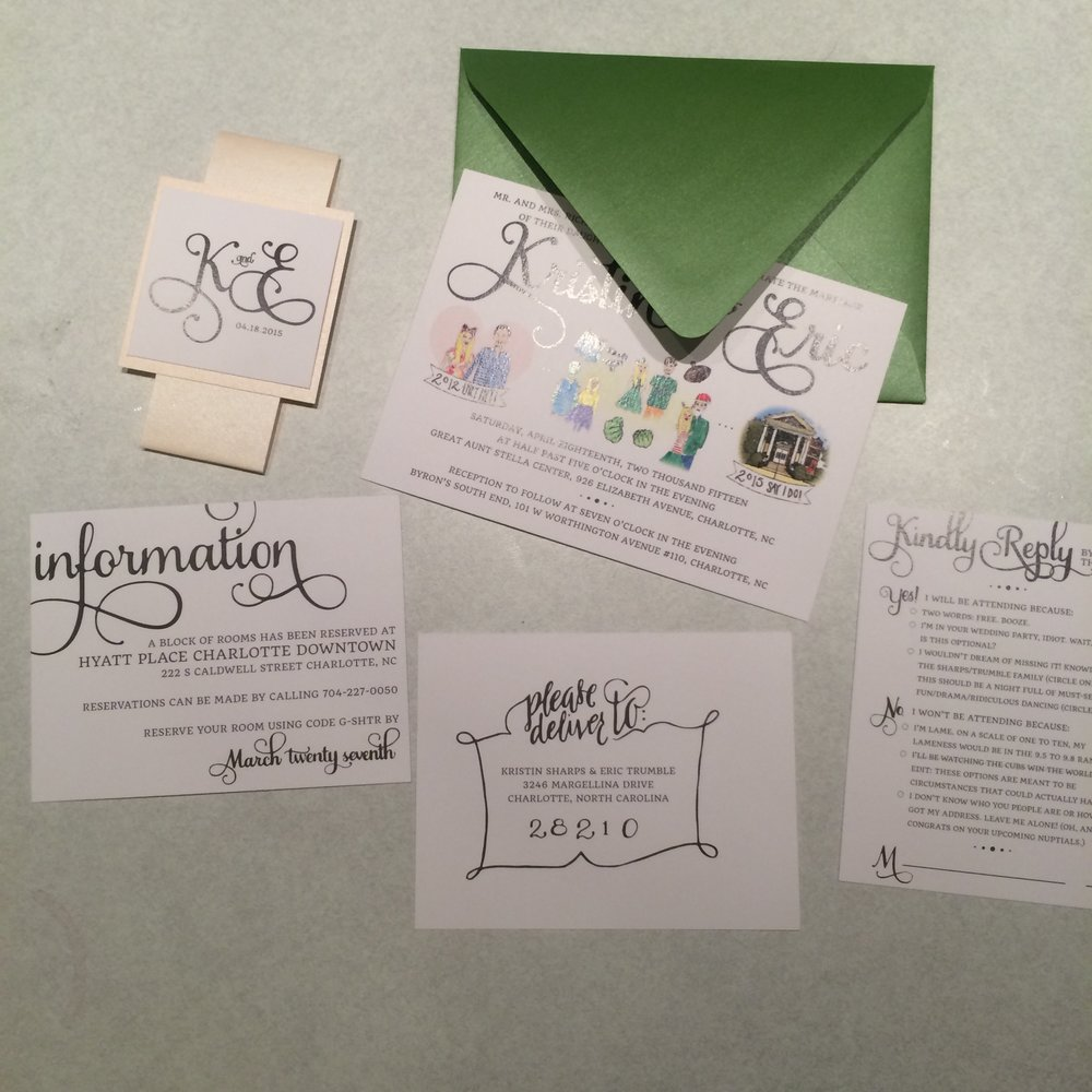Trumble Invitation Suite