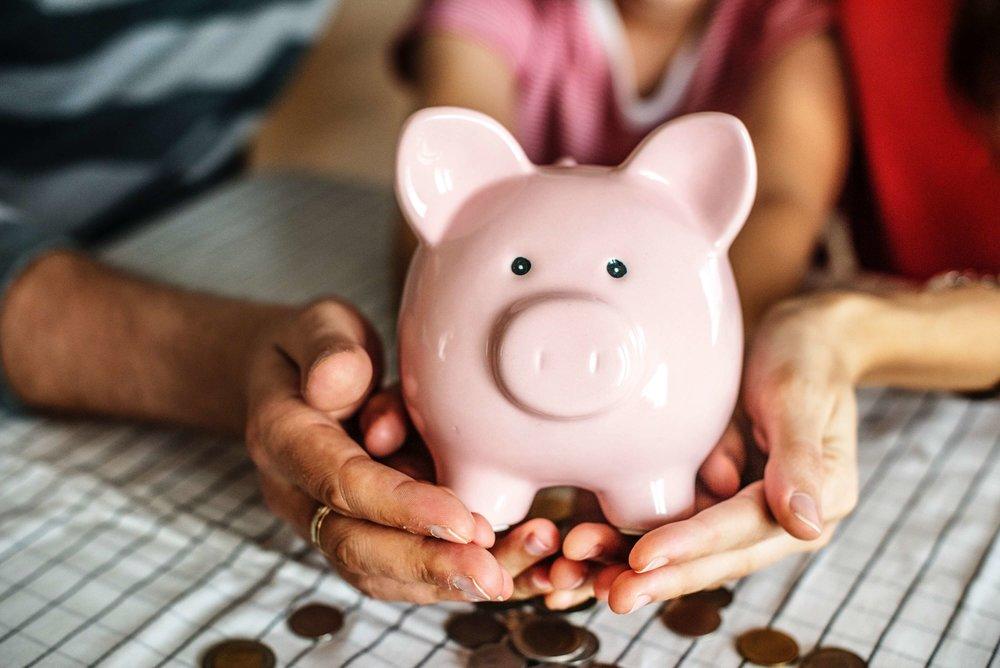 Halston Marketing Investor Piggy Bank