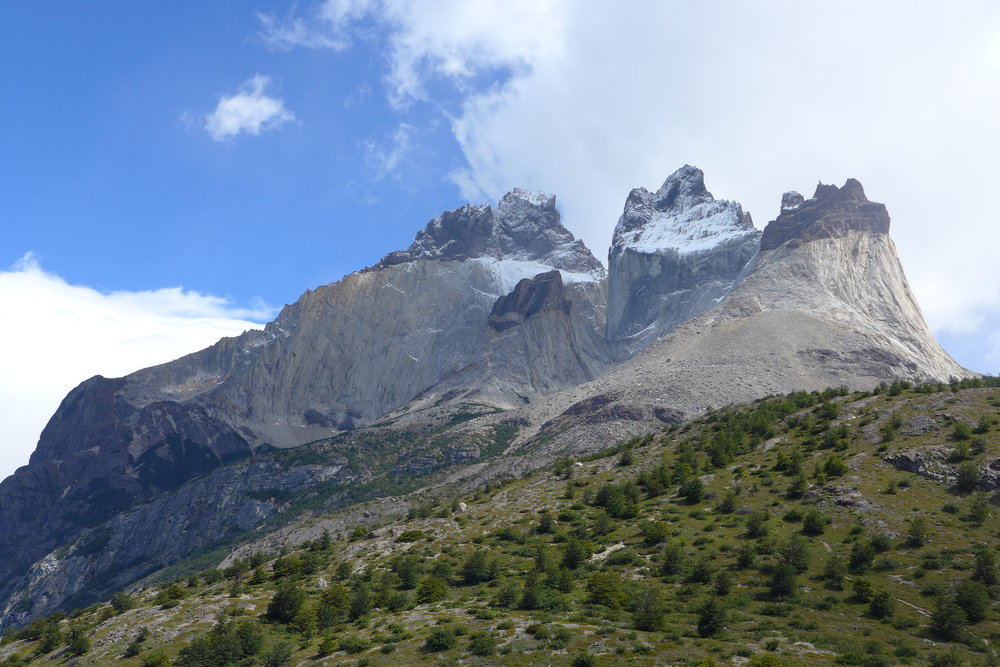 Los Cuernos (the horns) from the 'W' trail. Photo: Calum Muskett