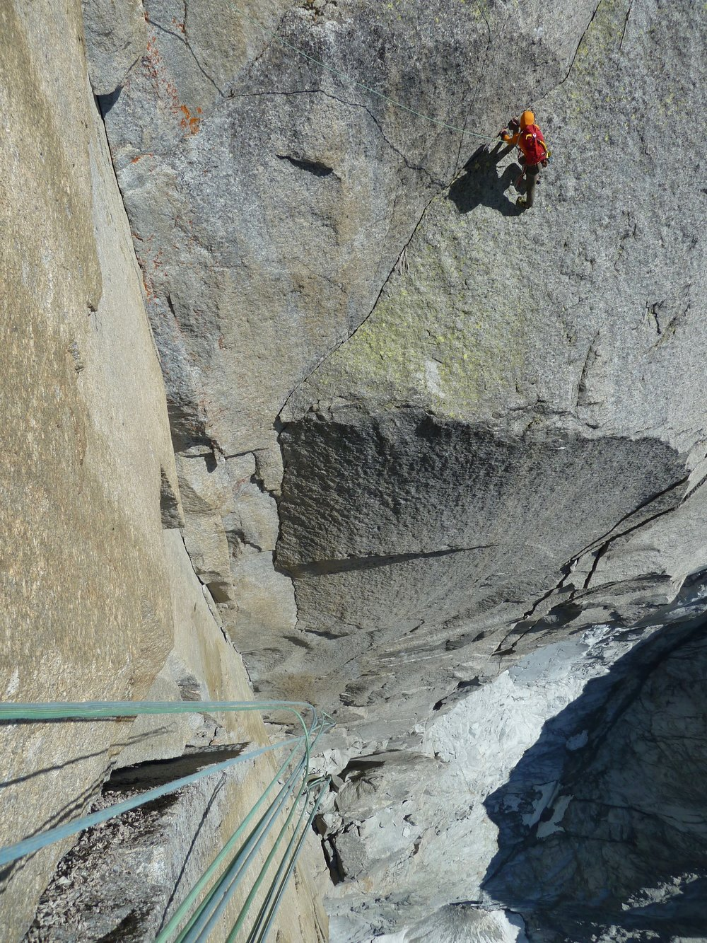 looking down the 90m corner on the american direct on le dru