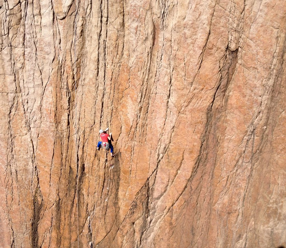 the second coming (e5 6b), holy jesus wall, owey. ireland. photo: henry francis