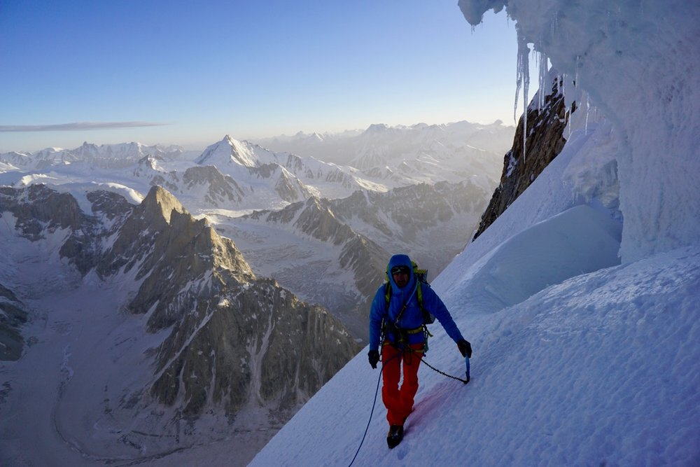 Day 4, North Ridge Variation, Latok 1, Karakoram. Pakistan.