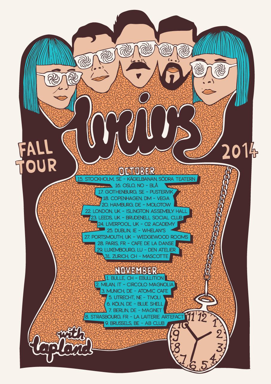 Lucius tour poster