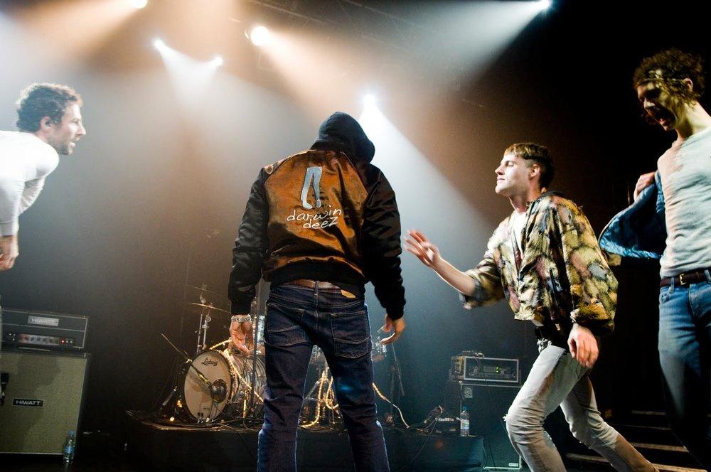 Darwin Deez tour jacket