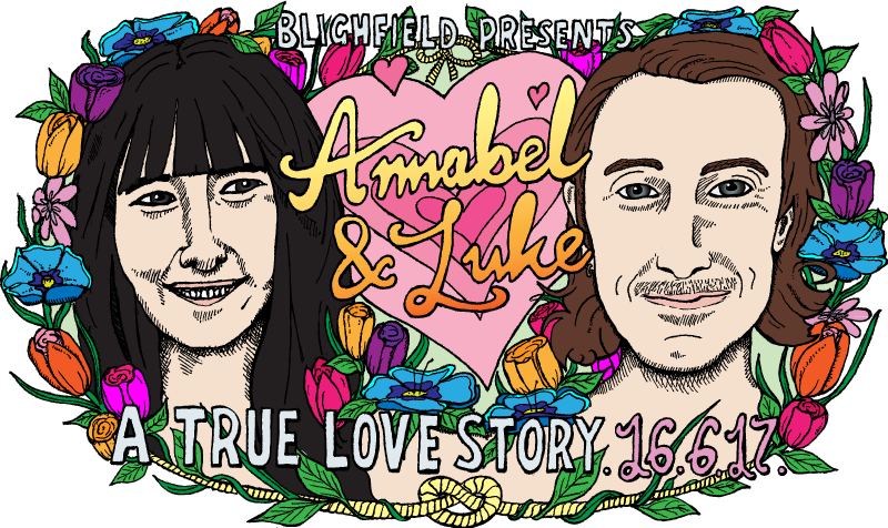 Annabel & Luke wedding banner