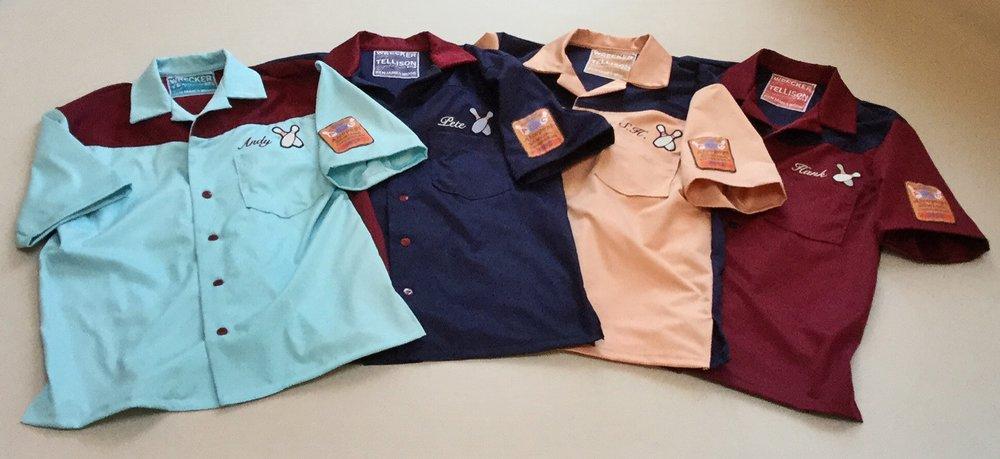 Tellison 'Wrecker' bowling shirts