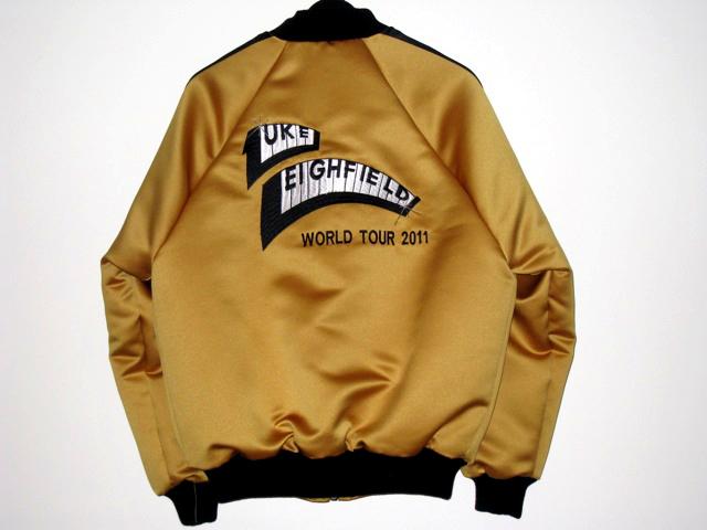 Luke Leighfield tour jacket
