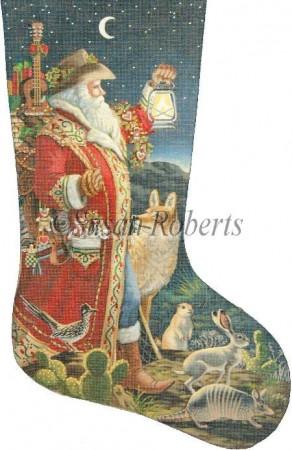 Southern Santa Stocking XS 302.jpg