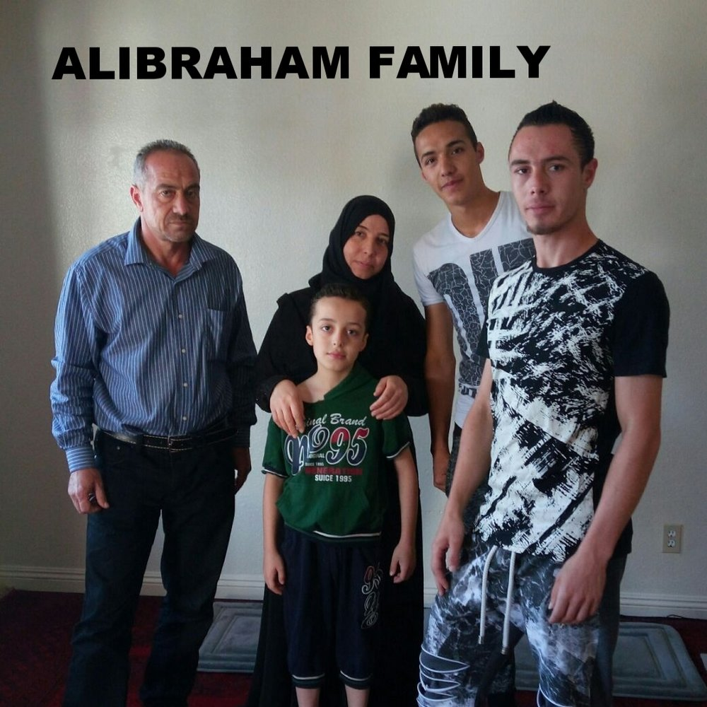 Syrian family of six arrived here on November 1, 2016. Children include 3 boys aged 9, 19, and 21 and a daughter aged 16. Currently their primary need is cell phones for the teenage kids.