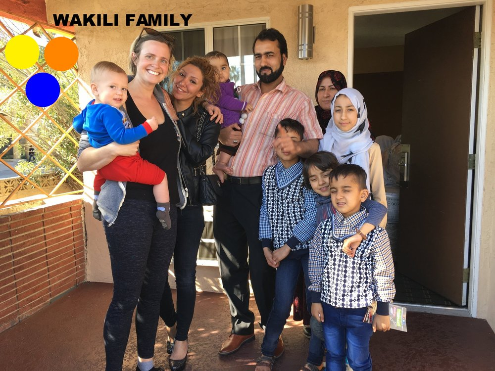 A beautiful family of 7 from Afghanistan who has resettled in Orange County. Kids ranging 8m-13y. Dad speaks basic English and the baby girl is deliciously chunky!We were able to supply them with beds, a cell phone,and household basics in their first week in their new home. This is the remainder of their list.