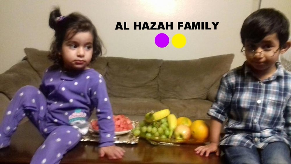 Syrian family, husband with wife and 2 kids arrived August 2016 resettling in San Diego. The four year old son has a disbility. Left Homs, Syria in 2012 for Jordan.applied for refugee status through UNHCR and they waited two years to get to the US.