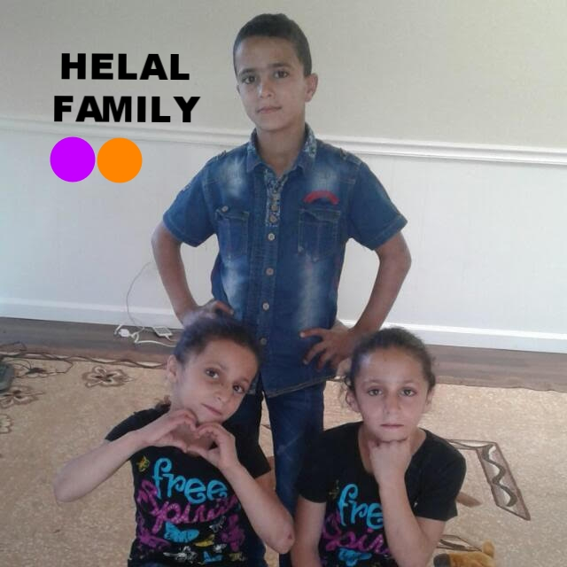 Syrian family, with 6 kids, ages 8, 8, 11, 13, 14,and 17.Mom has disability with her legs. They left Syria at Sep. 2013 to Jordan. They arrived in the US in October 2016.