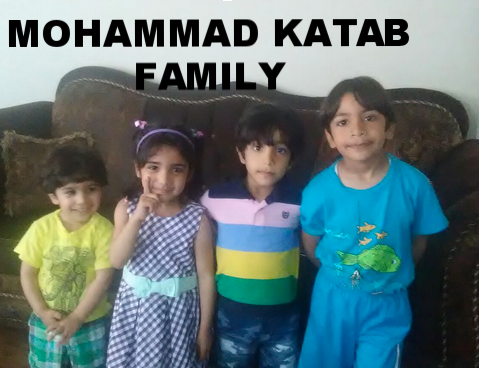 The Mohammad Katab family moved from Syria in 2012 to Jordan, landing in the US in August 2016 through the UNHCR. This family is looking for help and support. Th efather needs a car so he can start working with Uber and the family can be independent once more.