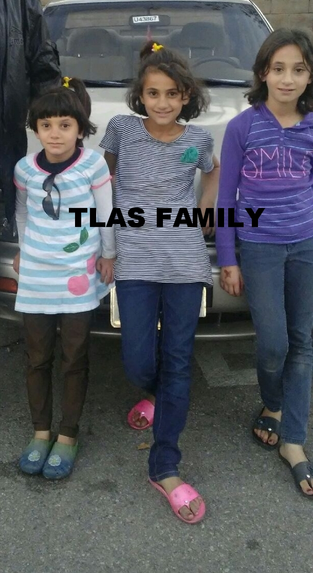 The Tlas Family has three girls 11, 9, and 6 and 2 year old boy. They left Homs, Syria in December 2012 when their daughters were 6, 4, and 2. They moved to the US in October 2016 where they stayed in a single hotel room for 12 days with no food or access to food stamps. Now they are in permanent housing but their home is missing many staples! Let's welcome them to America by helping them out with their household needs, wants and getting their kids ready for school.