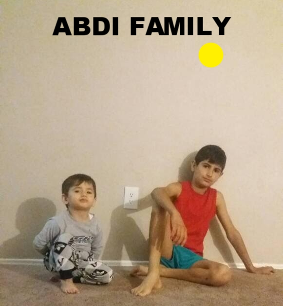 The Mohamad Abdi family are a Syrian family who left Syria in 2012 for Turkey. The mom has FMF, a problem with her kidneys, one of the kids ha a problem with his spleen. They just arrived in the US Oct. 2016. This family looking for your help and support.