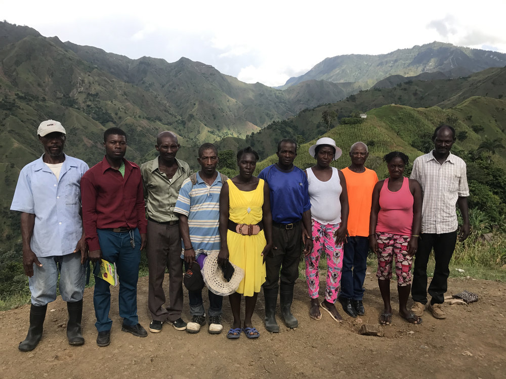 Matrons (lay midwives) in the mountains of Nouvelle Terrain
