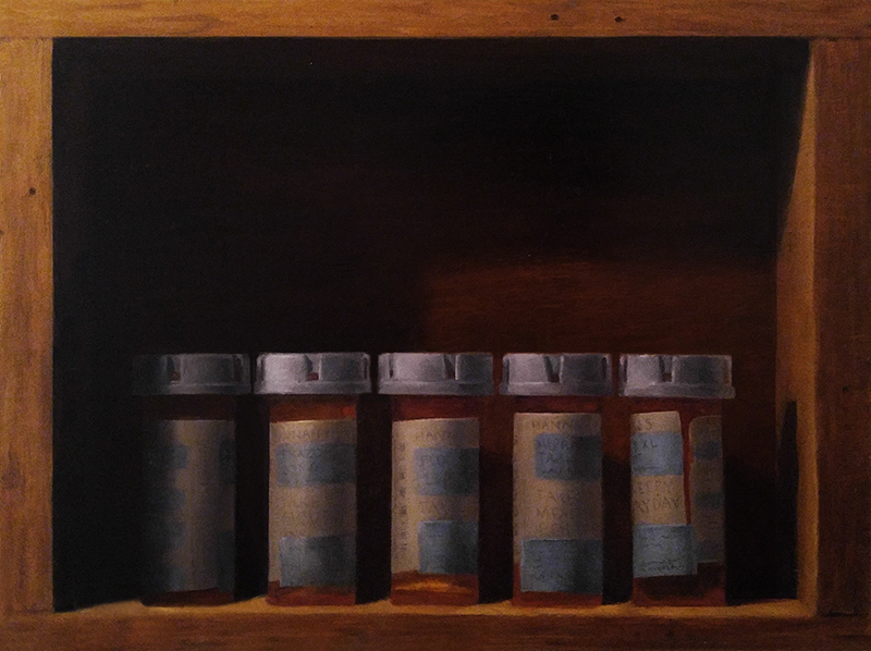 Five Pill Bottles [In Progress]