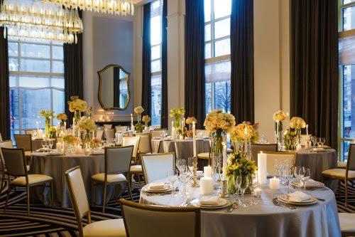 hotel monaco - gorgeous, modern ballroom