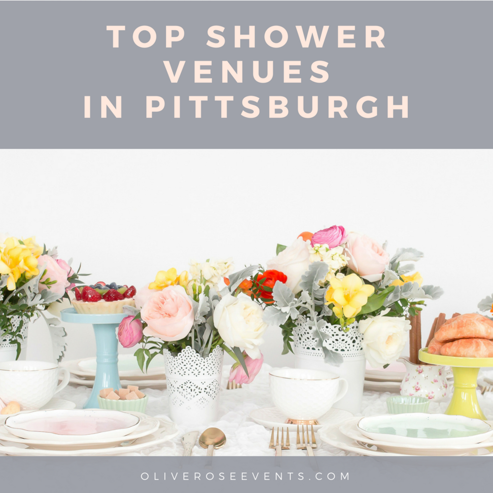 the top pittsburgh venues to host your shower