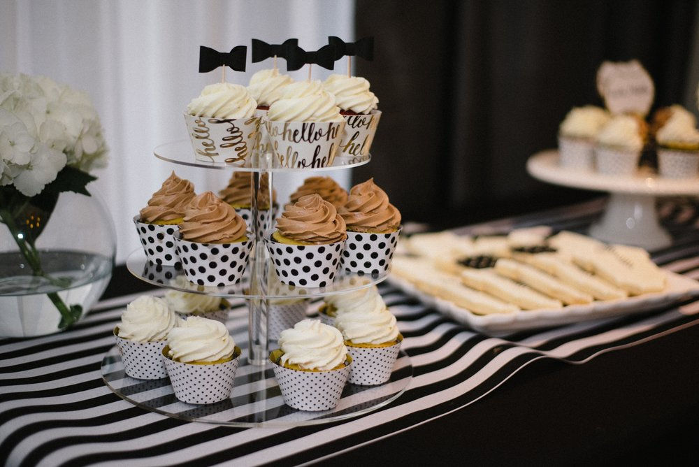 Black And White Hotel Monaco Pittsburgh Baby Shower Olive Rose